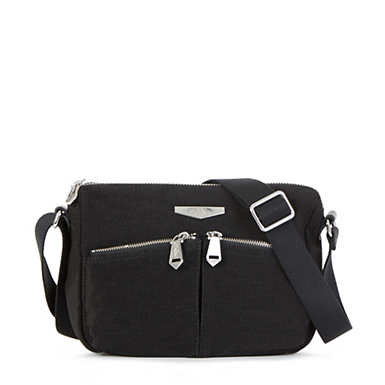 Kaeon Wanderer Crossbody Bag - Black