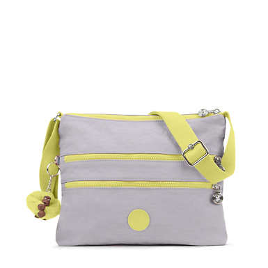 Alvar Colorblock Crossbody Bag - Slate Grey/Garden Green Combo