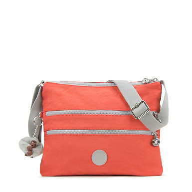 Alvar Colorblock Crossbody Bag - Cool Orange/Slate Grey Combo