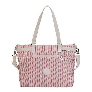 Sonny Printed Tote Bag - Zest Pink