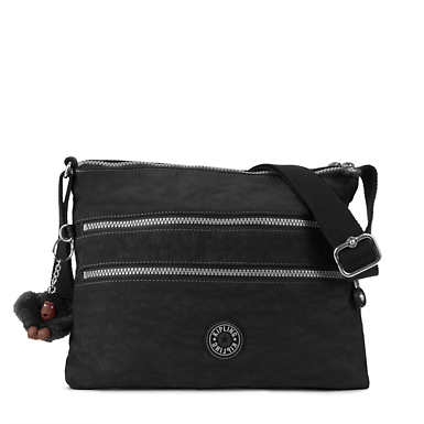 Alvar Vintage Crossbody Bag - Black Combo