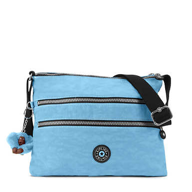Alvar Vintage Crossbody Bag - Blue Grey Combo