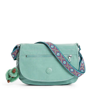 Edmund Crossbody Bag - Leaf Green