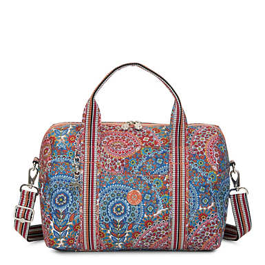 Folami Printed Handbag - Sunshine Happy