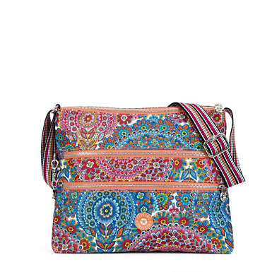 Alvar Printed Crossbody Bag - Sunshine Happy