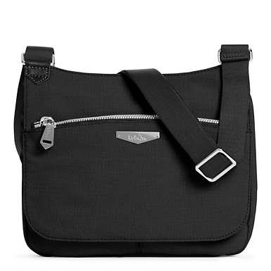 Kaeon Saddle Handbag - Black
