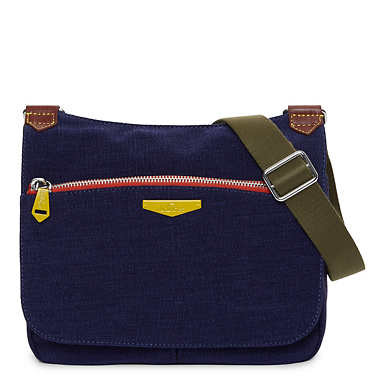 Kaeon Saddle Handbag - Blue