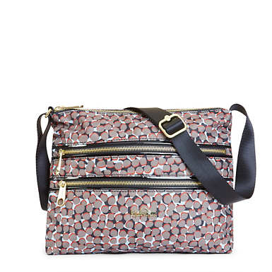 Alvar Printed Crossbody Bag - Graphic Animal Brown