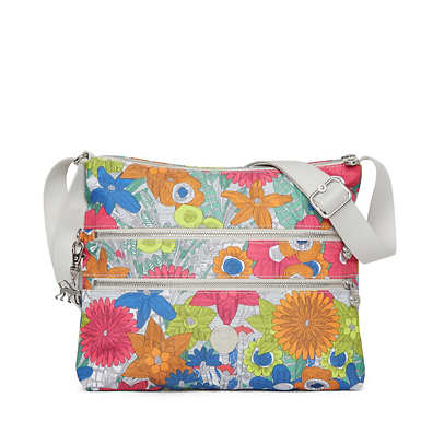 Alvar Printed Crossbody Bag - Floral Carnation