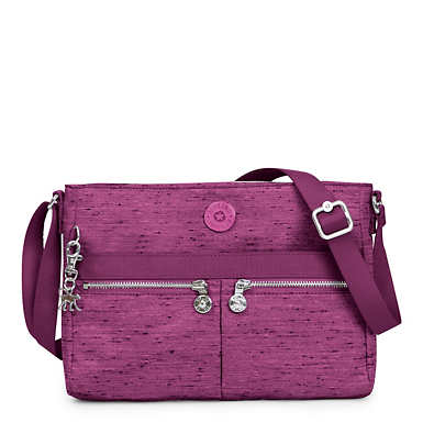Angie Crossbody Bag - Purple Garden
