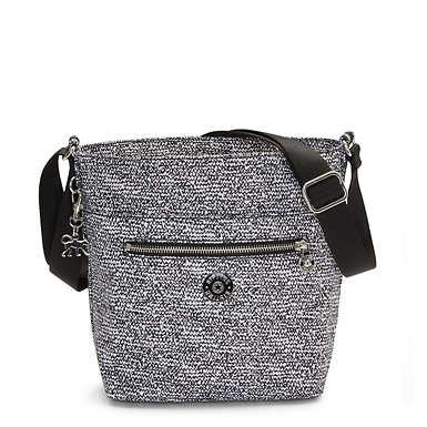Isla Printed Bucket Bag - Lacy Lines