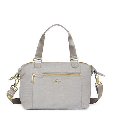 Art S Handbag - Slate Grey Croc