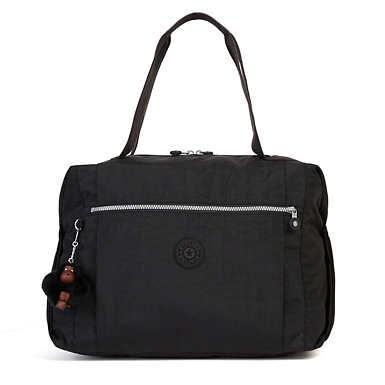Ferra Weekender Duffel Bag - Black