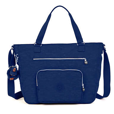 Maxwell Tote Bag - Ink Blue