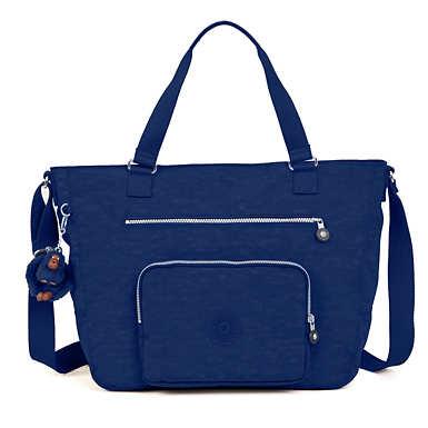 Maxwell Tote Bag - Ink Blue