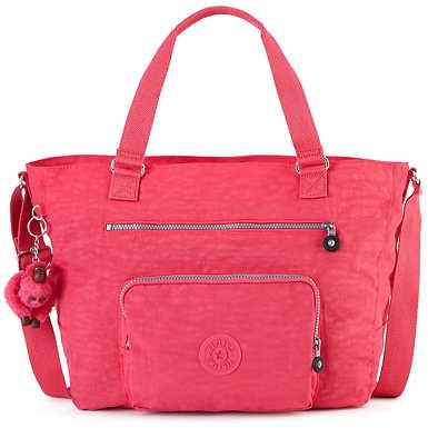 Maxwell Tote Bag - Vibrant Pink