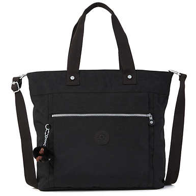 Lizzie Laptop Tote Bag - Black