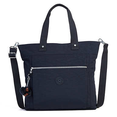 Lizzie Laptop Tote Bag - True Blue