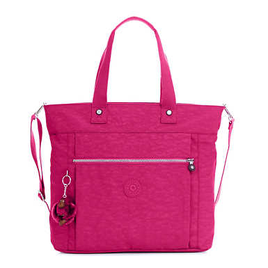 Lizzie Laptop Tote Bag - Very Berry