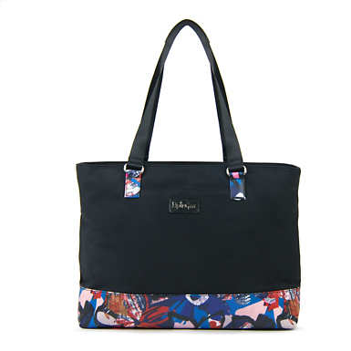 Lapo Tote Bag - Black/Chirpy Adventure Combo