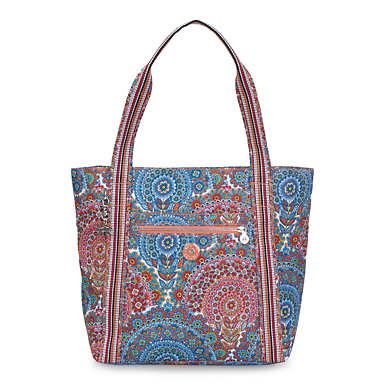 Foster Printed Tote Bag - Sunshine Happy