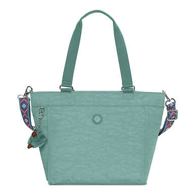 New Shopper Small Tote Bag - Leaf Green