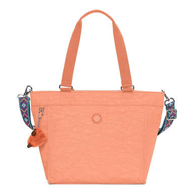 New Shopper Small Tote Bag - Peachy Pink