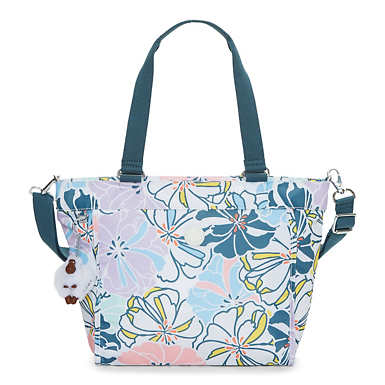 New Shopper Small Printed Tote - Hello Spring