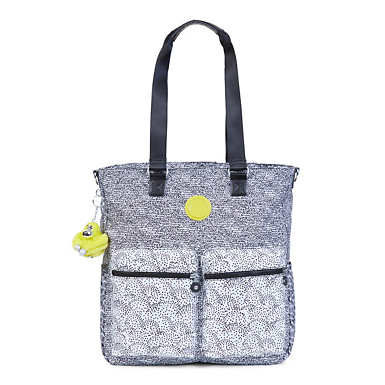 Relanna Printed Laptop Tote Bag - Geo Print Mix