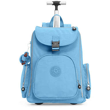 Alcatraz II Wheeled Laptop Backpack - Blue Grey