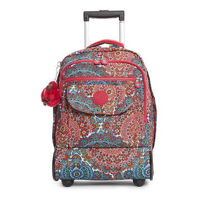 Sanaa Printed Wheeled Backpack - undefined