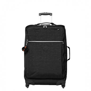 Darcey Medium Wheeled Luggage - Black