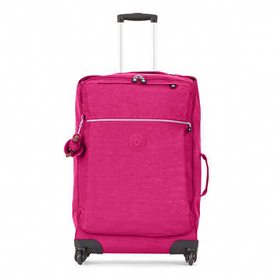 Darcey Medium Wheeled Luggage - Very Berry