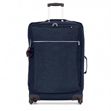 Darcey Large Wheeled Luggage - True Blue