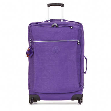 Darcey Large Wheeled Luggage - Precisely Purple