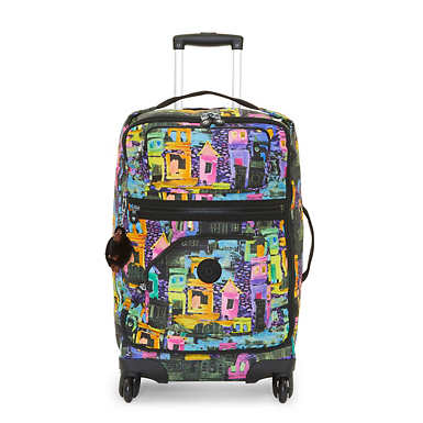 Darcey Small Printed Wheeled Luggage - Coronado Streets