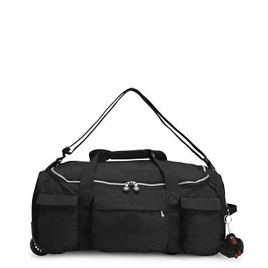 Discover Small Wheeled Luggage Duffle - Black