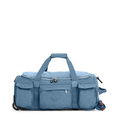 Discover Small Carry-On Rolling Luggage Duffle - Blue Bird