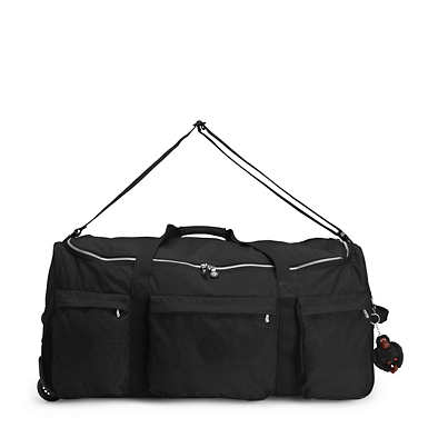 Discover Large Wheeled Luggage Duffle - Black