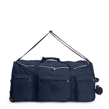 Discover Large Wheeled Luggage Duffle - True Blue