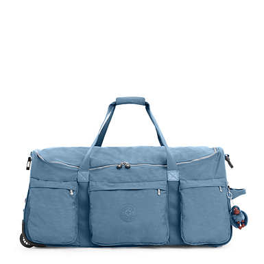 Discover Large Wheeled Luggage Duffle - Blue Bird