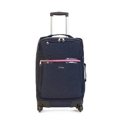 Darcey Small Carry-On Rolling Luggage - True Blue
