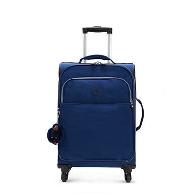 Parker Small Wheeled Luggage - Ink Blue