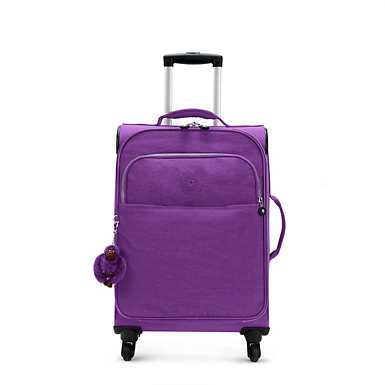 Parker Small Wheeled Luggage - Tile Purple