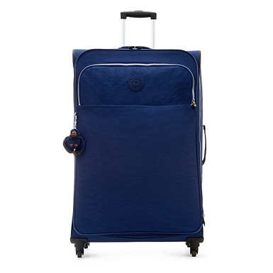 Parker Large Wheeled Luggage - Ink Blue