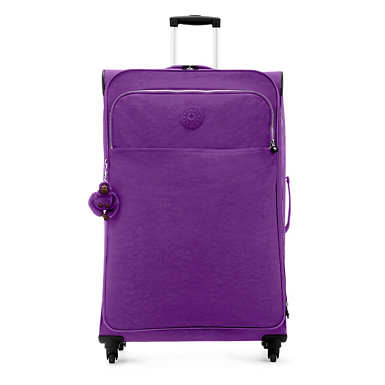 Parker Large Rolling Luggage - Tile Purple