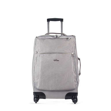 Darcey Small Carry-On Rolling Luggage - Slate Grey