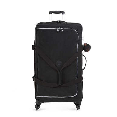 Cyrah Large Wheeled Travel Duffle - Black
