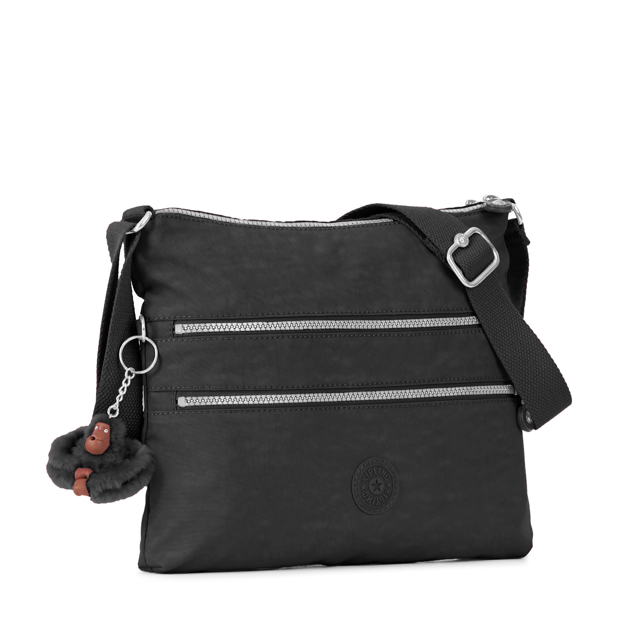 Alvar Crossbody Bag - Black | Kipling