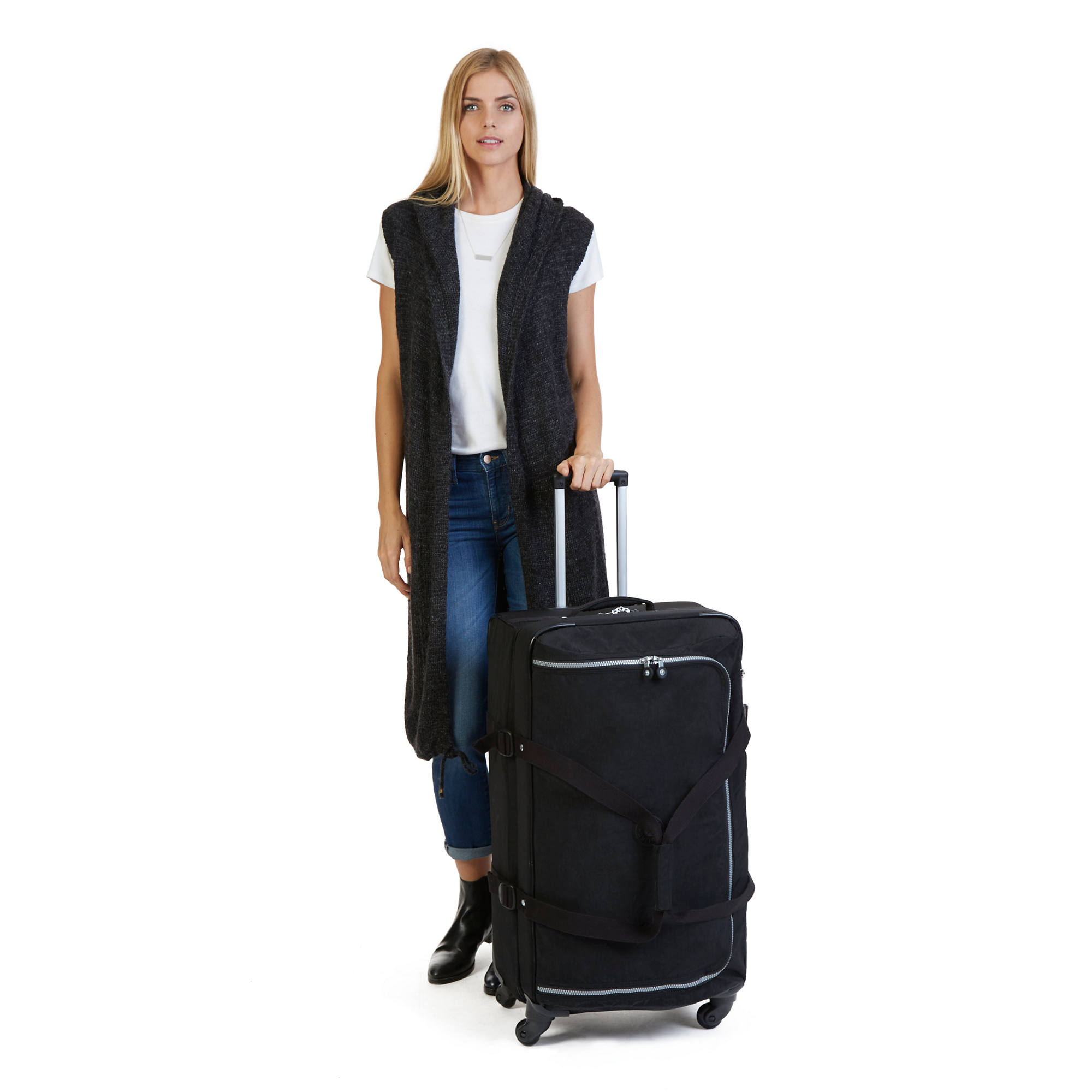Cyrah Large Wheeled Travel Duffle | Kipling